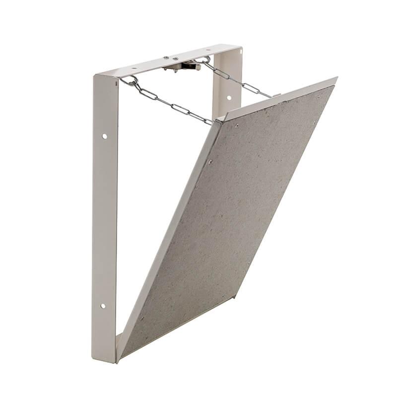 Для чего нужен скрытый люк под плитку в ванной?